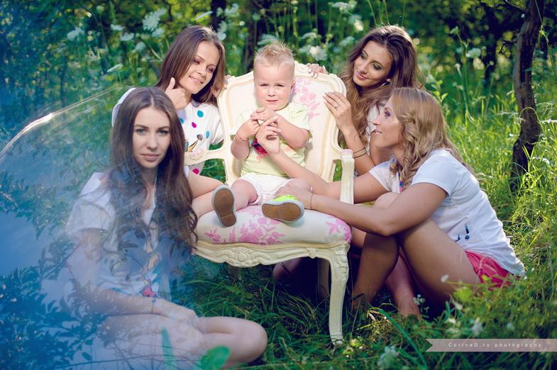 Sedinta foto – Codrin si fetele din viata lui