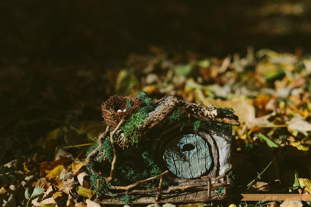 Casa Hobbit miniatura handmade