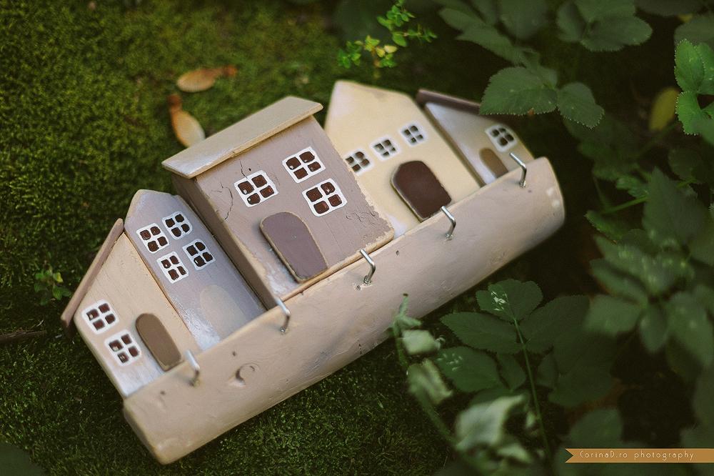 Cuier pentru chei – Casute in miniatura
