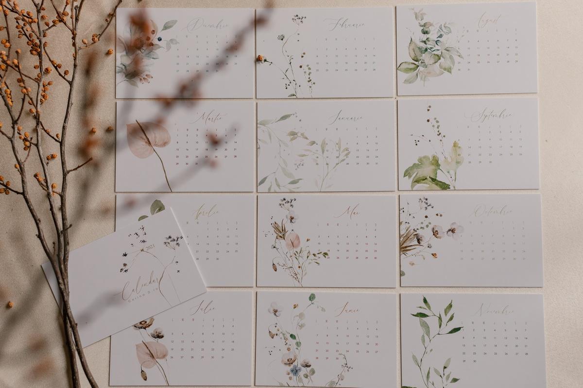 Calendar 2021 Botanical