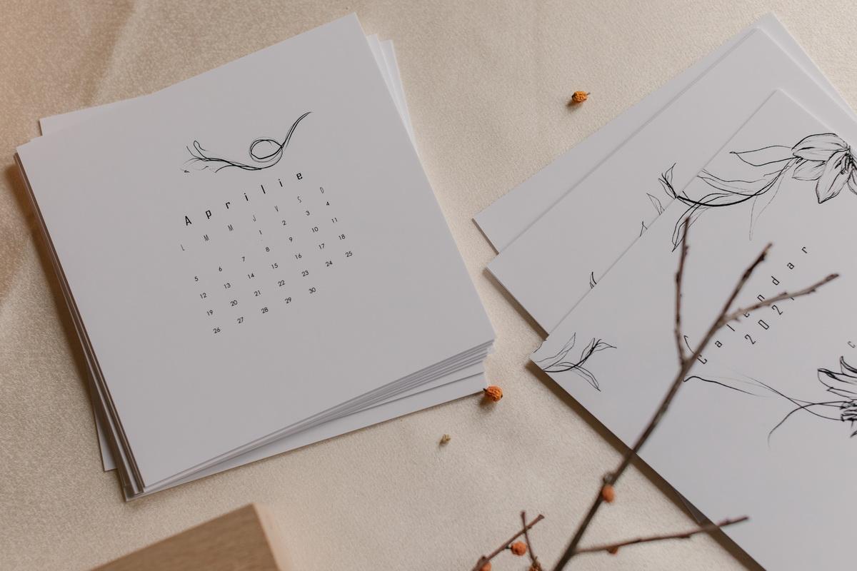 Calendar 2021 Sensibilitate